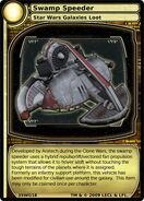 Swamp Speeder (card)