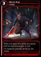 Burst Run (card)