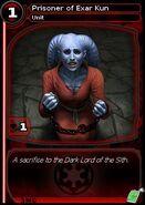 Prisoner of Exar Kun (card)