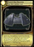 Trench Run Diorama (card)