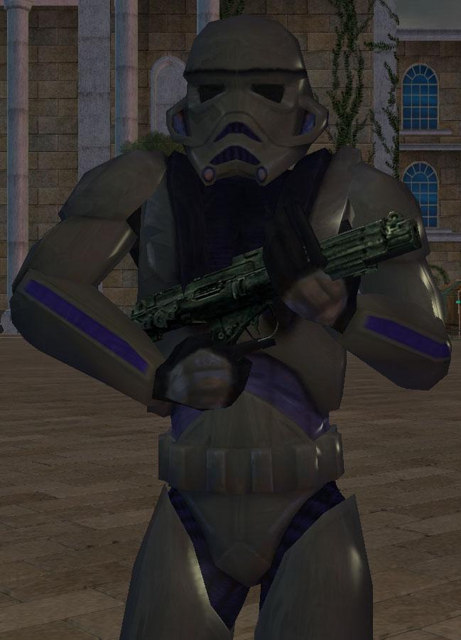 Black Hole dark trooper