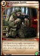 Renegade Soldier (card)