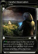 Careful Observation (card)