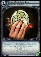 Classified Data Disc (card)