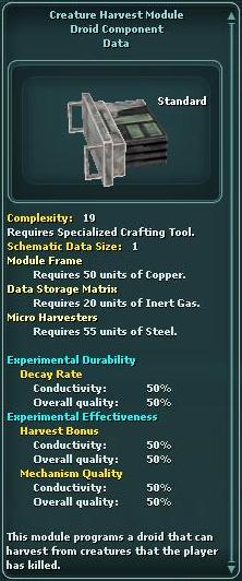 Module - Creature Harvest