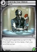 Card Up Your Sleeve (card)