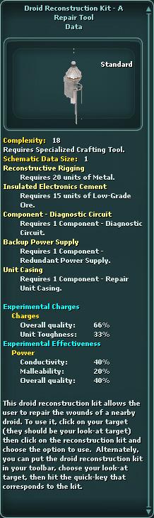 Droid Reconstruction Kit - A