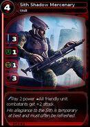 Sith Shadow Mercenary (card)