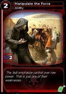 Manipulate the Force (card)