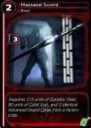 Massassi Sword (card)