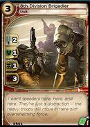 8th Division Brigadier (card)
