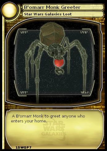 B'omarr Monk Greeter