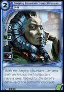 Singing Mountain Councilwoman (card)