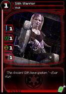 Sith Warrior (card)