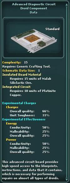 Component - Diagnostic Circuit - Advanced