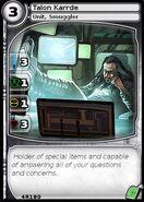 Talon Karrde (card)