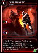 Force Corruption (card)