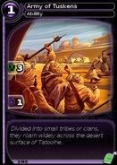 Army of Tuskens (card)