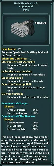 Droid Repair Kit - B