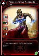 Force-sensitive Renegade (card)