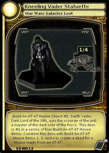 Kneeling Vader Statuette