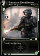 Oppressor Flamethrower (card)