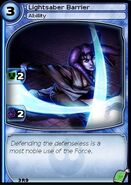 Lightsaber Barrier (card)