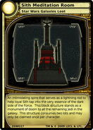 Sith Meditation Room (card)