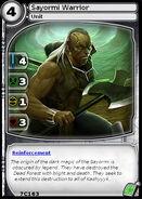 Sayormi Warrior (card)