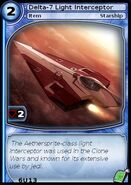 Delta-7 Light Interceptor (card)