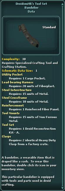 Droidsmith's Tool Set