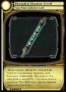 Morgukai Shadow Scroll (card)
