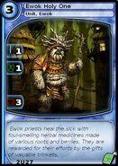 Ewok Holy One (card)