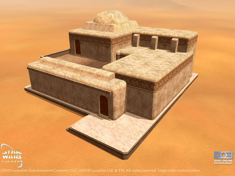 Medium Tatooine House