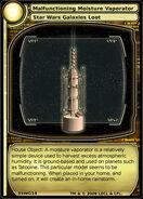 Malfunctioning Moisiture Vaporator (card)