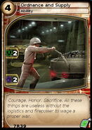 Ordnance and Supply (card)