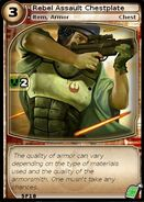 Rebel Assault Chestplate (card)