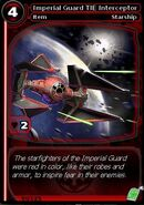 Imperial Guard TIE Interceptor (card)