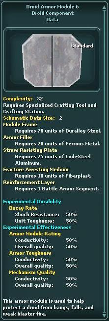 Module - Droid Armor 6
