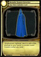 Senate Guard Greeter (card)