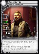 Talon Karrde (Avatar) (card)