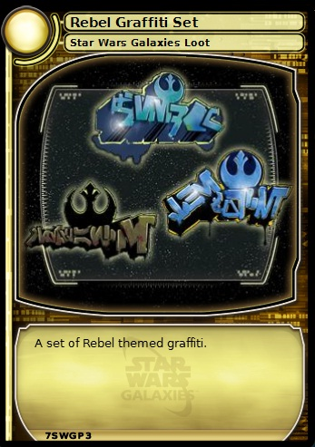 Rebel Graffiti Set