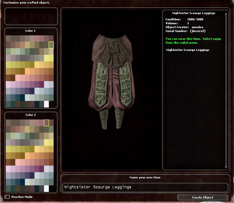 Nightsister Scourge Leggings