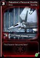 Palpatine's Personal Shuttle (card)