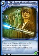 Fifth Generation Lightsaber (card)
