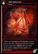 Sith Holocron (card)
