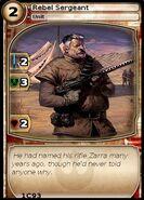 Rebel Sergeant (card)