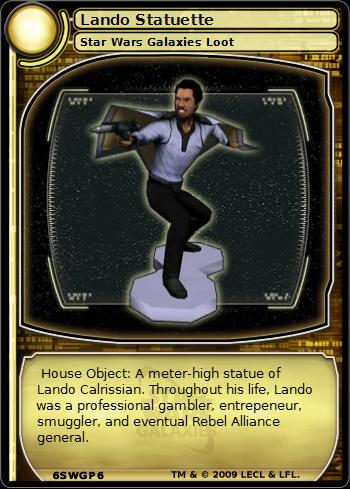 Lando Statuette