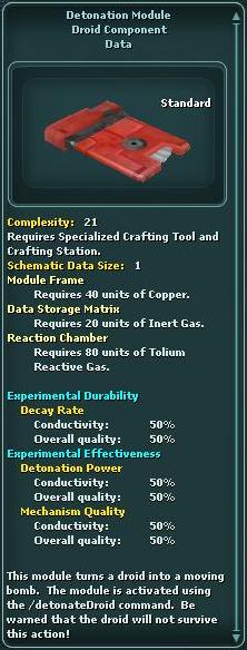 Module - Detonation 1