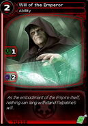 Will of the Emperor (card)